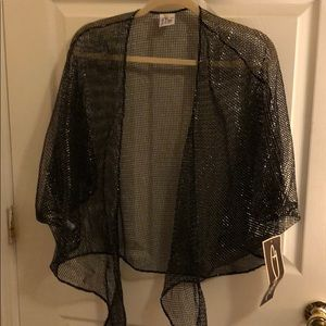 DOTTI BLACK And SILVER MEST COVERED Up JACKETS